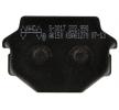 OEM Bremsbelagsatz, Scheibenbremse S3017-AK150 von NHC