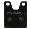 OEM Комплект спирачно феродо, дискови спирачки Y2044-AK150 от NHC