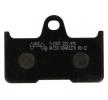 OEM Комплект спирачно феродо, дискови спирачки Y2047-AK150 от NHC