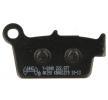 OEM Комплект спирачно феродо, дискови спирачки Y2048-AK150 от NHC