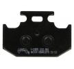 OEM Комплект спирачно феродо, дискови спирачки Y2055-AK150 от NHC