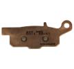 OEM Комплект спирачно феродо, дискови спирачки Y2061-CU1 от NHC