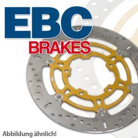 EBC Brakes Brake disc kit Front