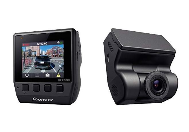 PIONEER  ND-DVR100 Caméra de bord Angle de vue: 114°