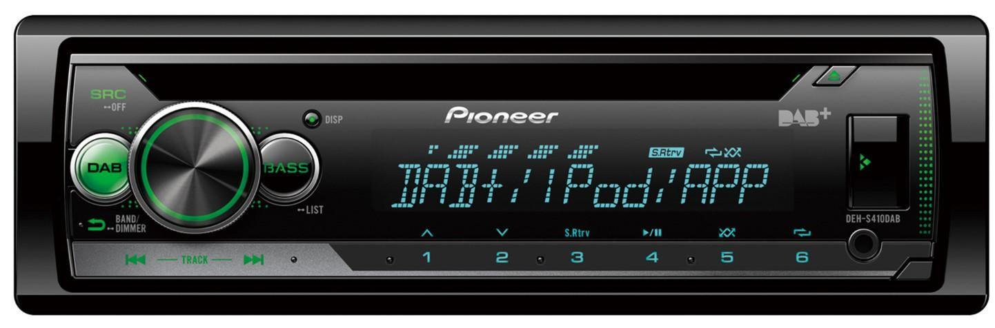 PIONEER  DEH-S410DAB Stereot Teho: 4x50W