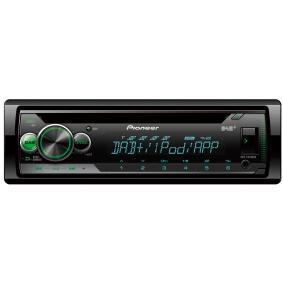 PIONEER  DEH-S410DAB Auto-Stereoanlage Leistung: 4x50W