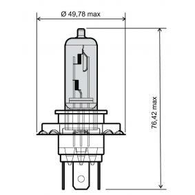 Glühlampe, Fernscheinwerfer H4, 35 / 35W, 12V 24 651 0065