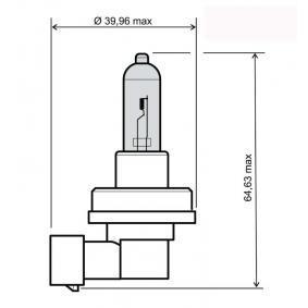 Bulb, spotlight H8, 35W, 12V 24 651 0075