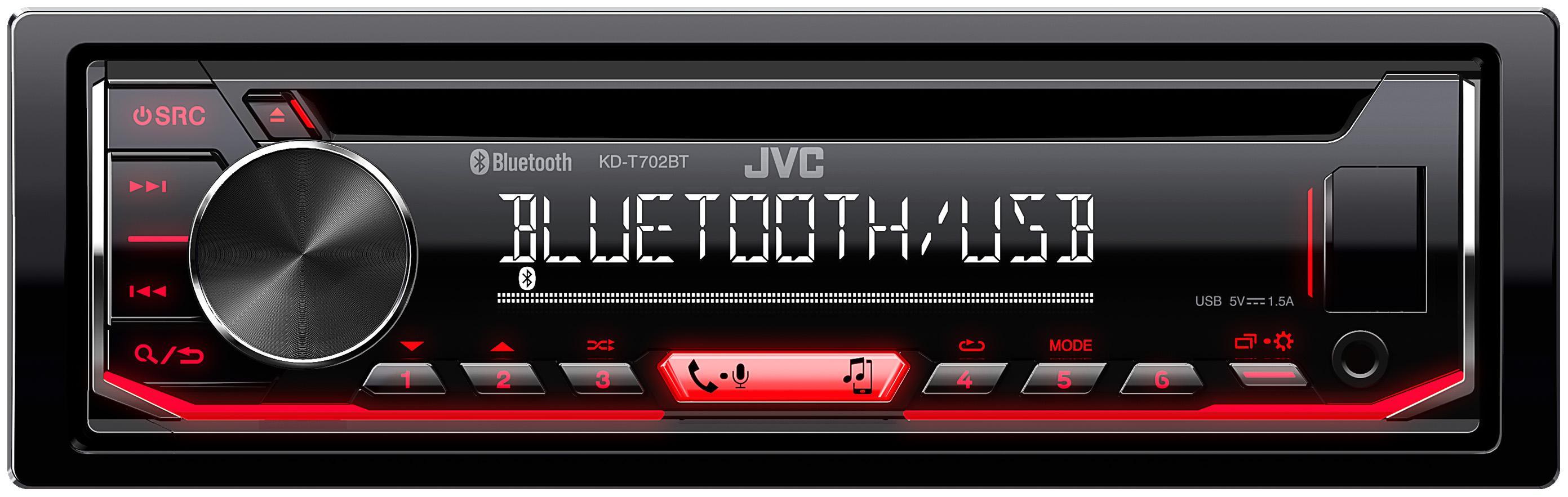 Stereot KD-T702BT JVC KD-T702BT alkuperäisen laatuiset