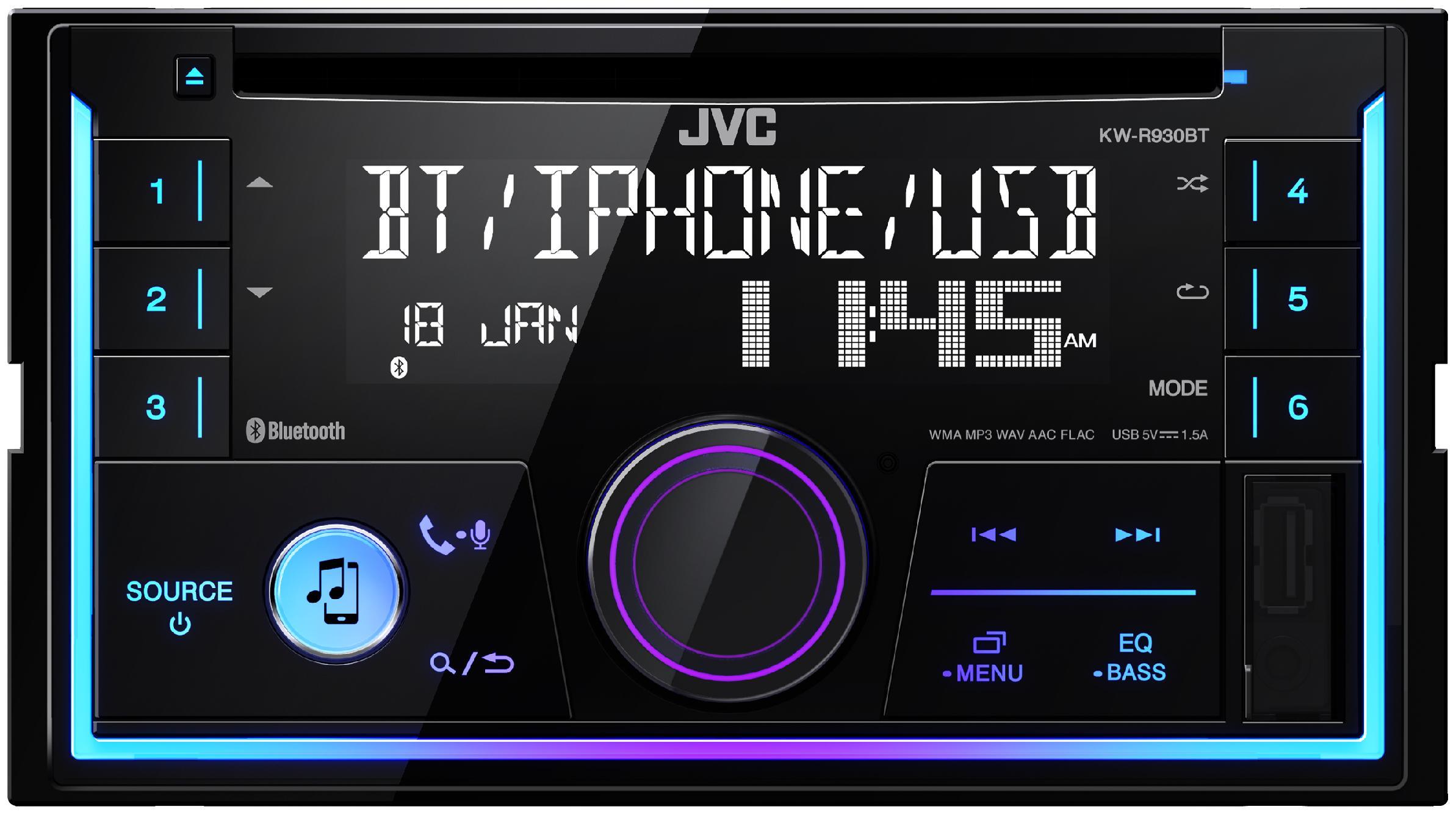 Estéreos KW-R930BT JVC KW-R930BT en calidad original