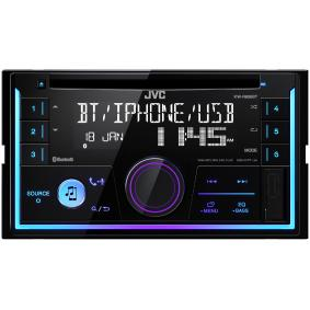 Stereo Osiągi: 4x50W KWR930BT
