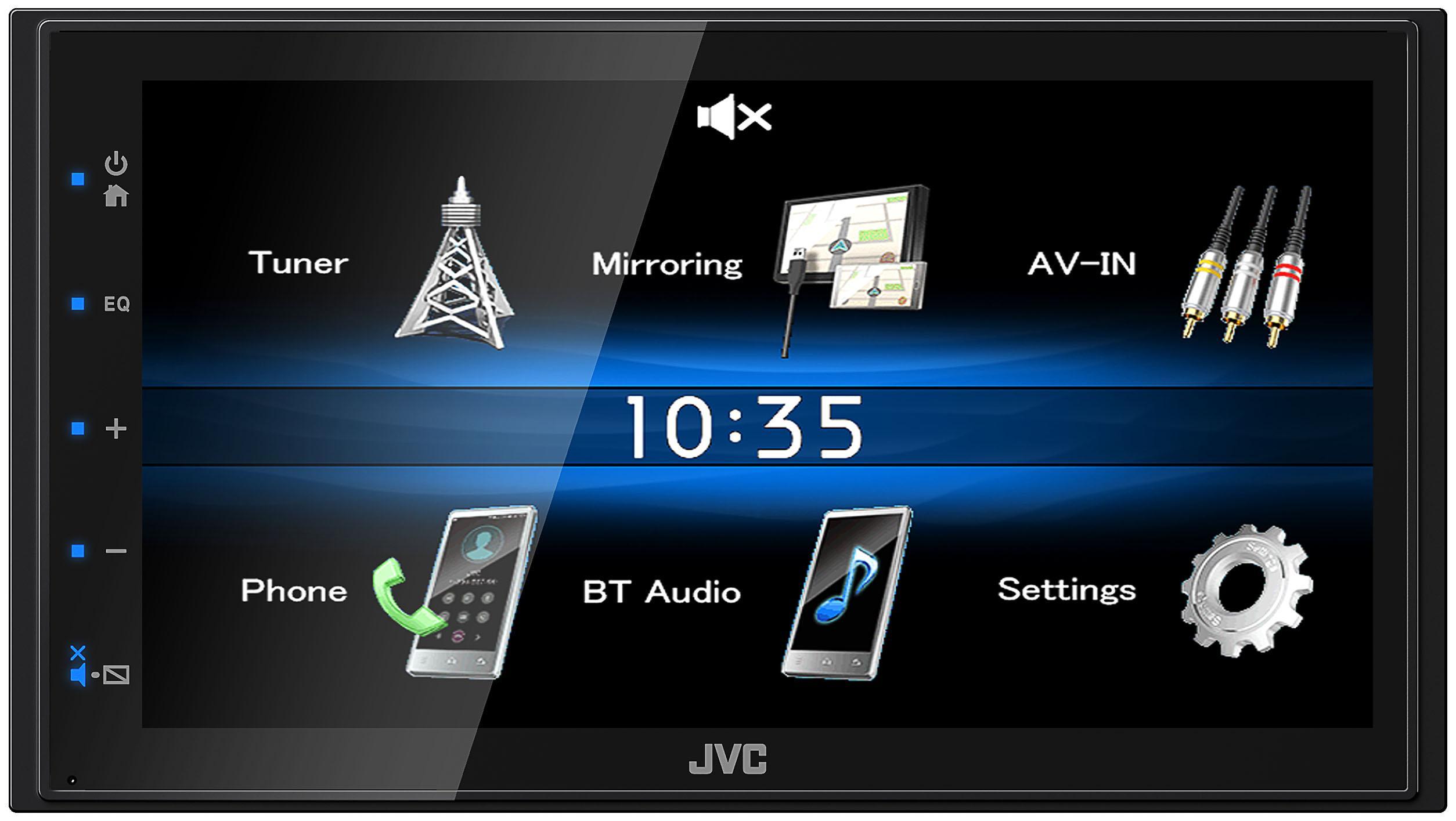Multimediální autorádio KW-M25BT JVC KW-M25BT originální kvality