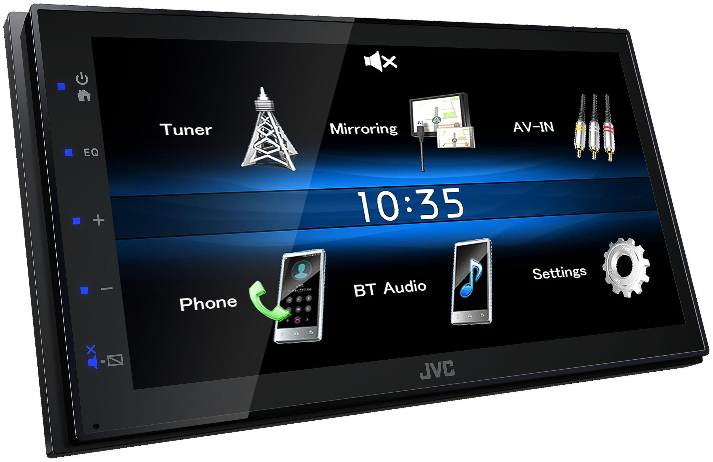 Multimediální autorádio JVC KW-M25BT Hodnocení