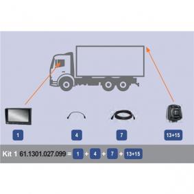 MEKRA  61.1301.027.099 Cámara de visión trasera, asistente de aparcamiento