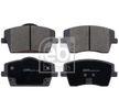 OEM Bremsbelagsatz, Scheibenbremse FEBI BILSTEIN 14740770 für VOLVO