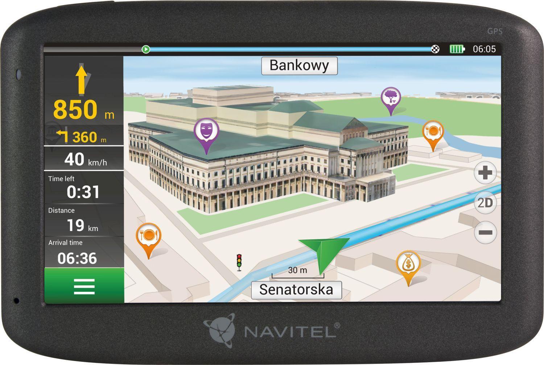 Navigationssystem NAVE500 NAVITEL NAVE500 original kvalite