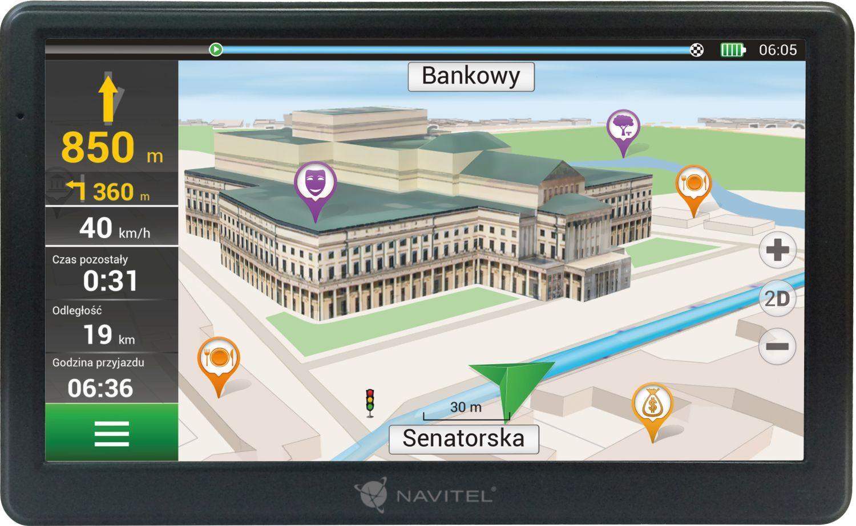 Navigační systém NAVE700 NAVITEL NAVE700 originální kvality
