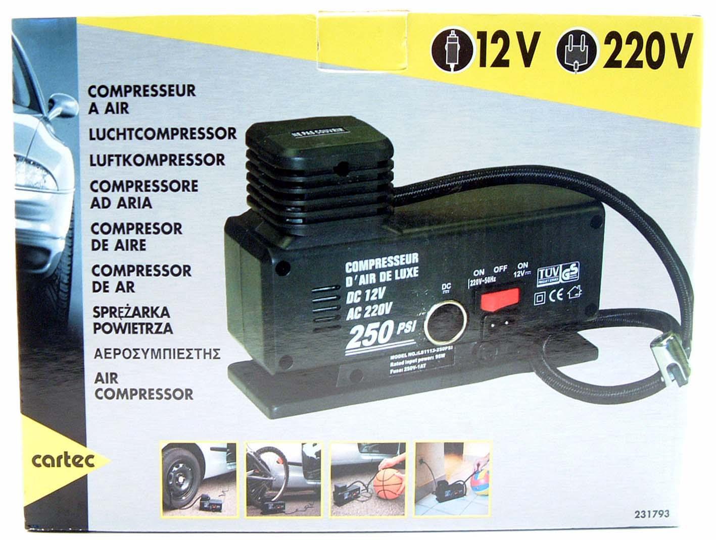 Compressor de ar CARTEC 231793 classificação