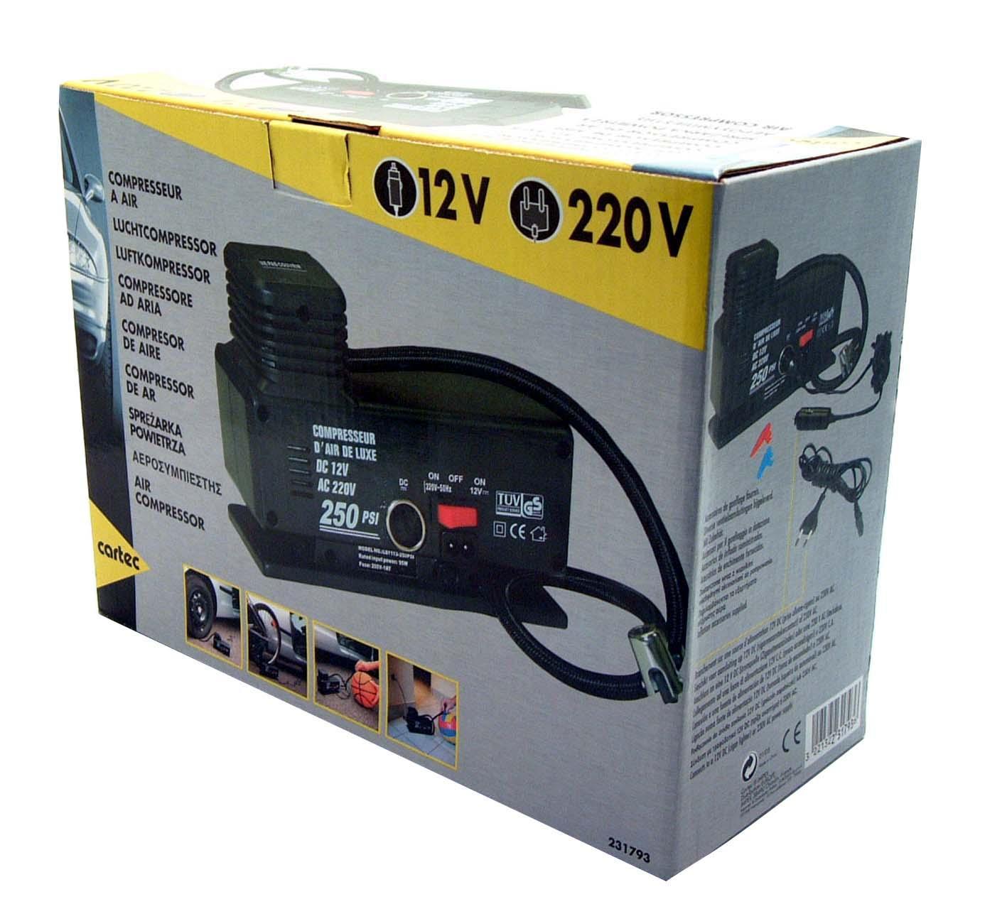 Compressor de ar CARTEC 231793 conhecimento especializado