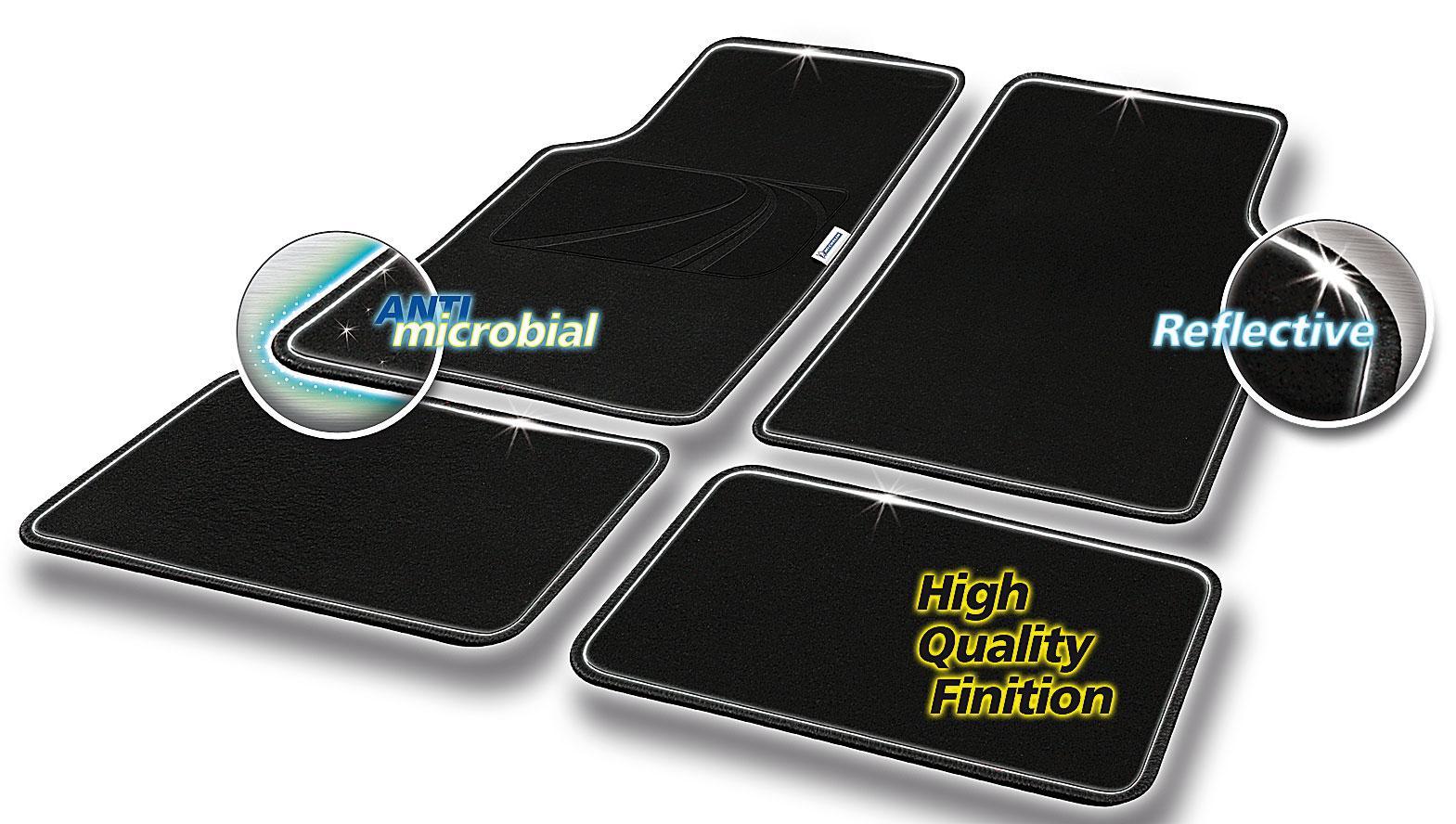 Conjunto de tapete de chão Michelin 009082 classificação