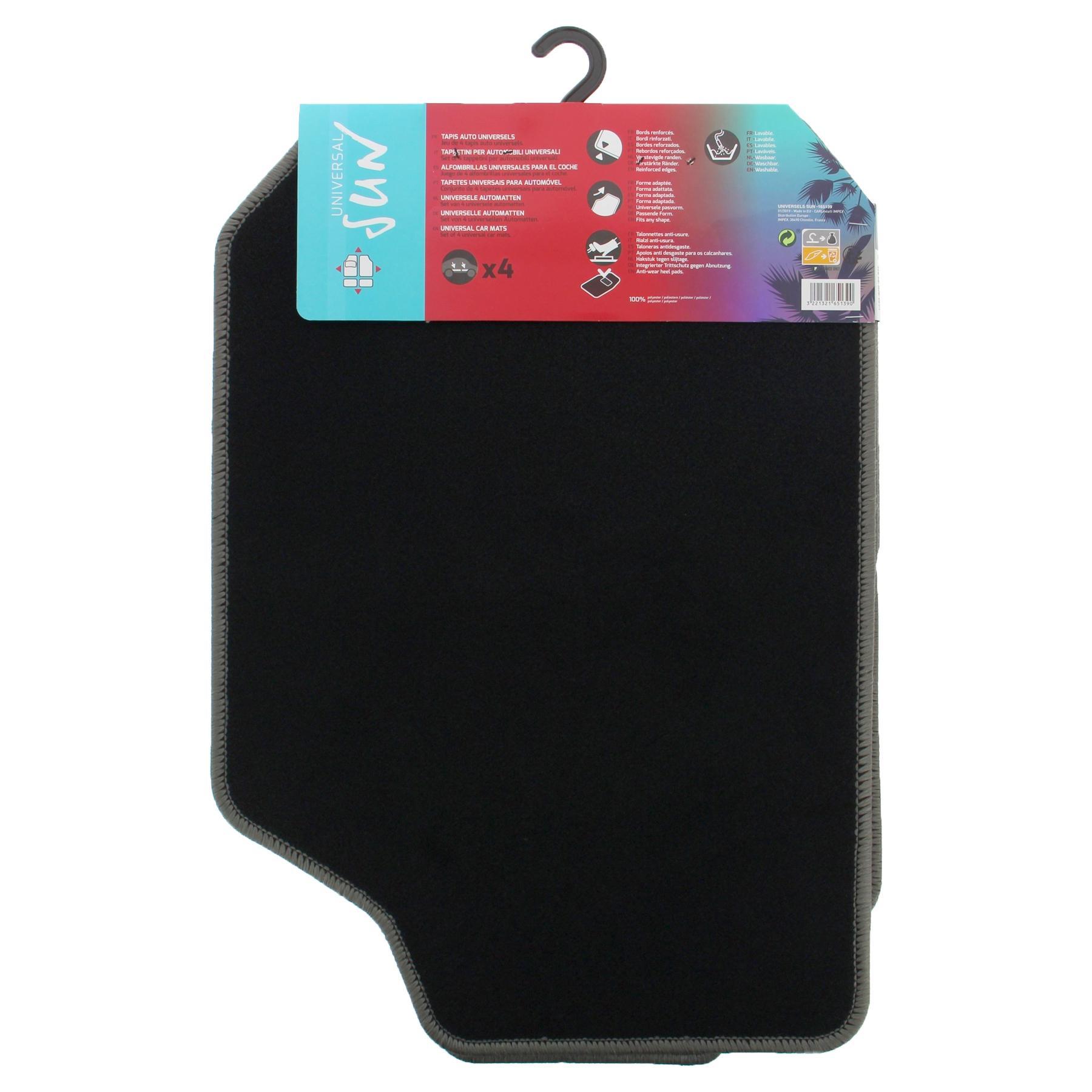 Conjunto de tapete de chão RED SIGN 165139 3221321651390