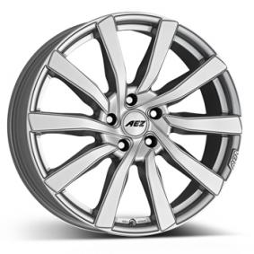 alloy wheel AEZ Reef silver silver painted 17 inches 5x112 PCD ET48 ARE78SA48