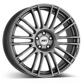 alloy wheel AEZ Strike graphite 18 inches 5x112 PCD ET27 ASRG8GA27