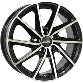 alloy wheel ALUTEC SINGA Schwarz Glanz / Poliert 16 inches 5x115 PCD ET41 SIN65641G53-1