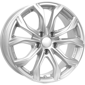 alloy wheel ALUTEC W10 brilliant silver painted 20 inches 5x130 PCD ET52 W10-902052V91-0