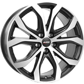 alloy wheel ALUTEC W10X mattschwarz Front poliert 20 inches 5x130 PCD ET52 W10-902052V93-5