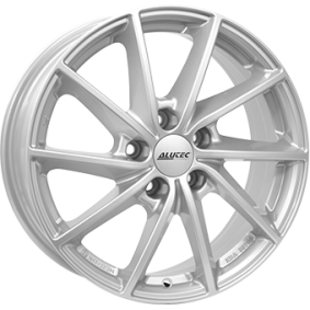 alloy wheel ALUTEC Singa polar silver 15 inches 4x100 PCD ET39 SIN60539O21-0