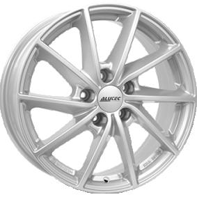alloy wheel ALUTEC Singa polar silver 15 inches 4x100 PCD ET39 SIN60539O21-0