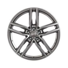 Alufelge ALUTEC Ikenu graphit Front poliert 17 Zoll 5x114.3 PCD ET38 IKE75738B82-9