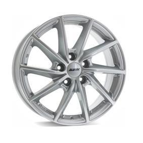 alloy wheel ALUTEC Singa polar silver 16 inches 5x114.3 PCD ET45 SIN65645L11-0