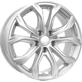 lichtmetalen velg ALUTEC W10X polar zilver 18 inches 5x150 PCD ET51 W10X-80851X11-0