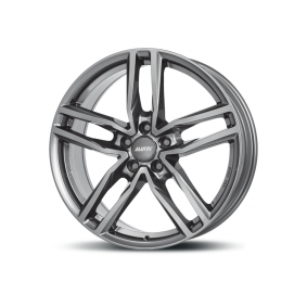 alloy wheel ALUTEC Ikenu gun-metal-grey 16 inches 4x108 PCD ET20 IKE65620CP17-9