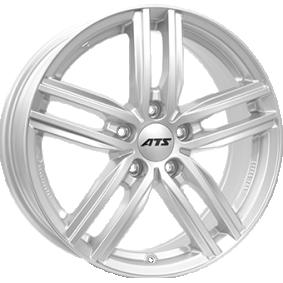 alloy wheel ATS Antares polar silver 15 inches 5x100 PCD ET38 AT60538V71