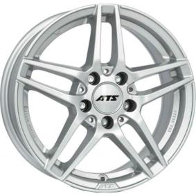 alufælg ATS Mizar polar sølv 16 inches 5x112 PCD ET38 MZ65638M81