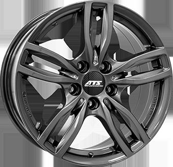 ATS Evolution Daytona grijs geschilderd lichtmetalen velg 7.5xR17 PCD 5x120 ET43 d72.60