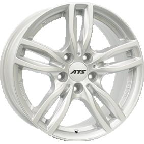 alloy wheel ATS Evolution polar silver 16 inches 5x120 PCD ET31 EVO70631W31-0