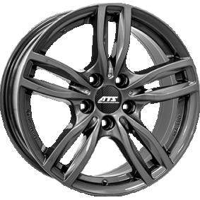 "alufælg ATS Evolution ""Daytona grå malet"" 16 inches 5x120 PCD ET31 EVO70631W37-6"