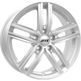 alloy wheel ATS Antares polar silver 15 inches 5x112 PCD ET43 AT60543V21