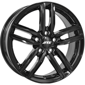 alloy wheel ATS Antares hyper silber schwarz Horn poliert 16 inches 5x112 PCD ET41 AT65641V22-6