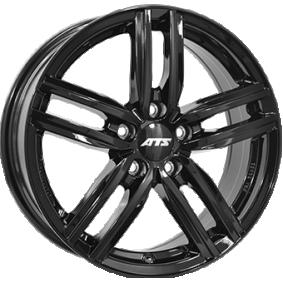 alloy wheel ATS Antares hyper silber schwarz Horn poliert 16 inches 5x112 PCD ET46 AT65646V22-6