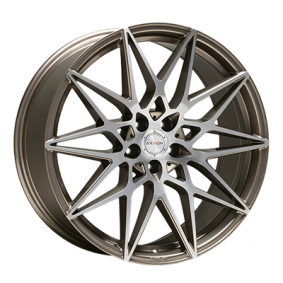 alloy wheel AXXION AX9 platin front poliert 20 inches 5x112 PCD ET40 16043