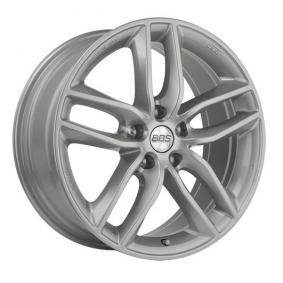 alloy wheel BBS SX brilliant silver painted 17 inches 5x114.3 PCD ET42 10013640