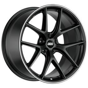 Alufelge BBS CI-R MattSchwarz / Poliert 19 Zoll 5x112 PCD ET44 10015214