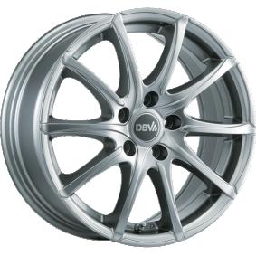 Alufelge DBV Tropez Brillantsilber lackiert 15 Zoll 5x112 PCD ET48 36185