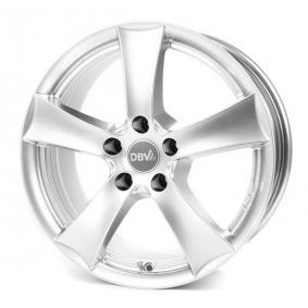 alloy wheel DBV 5SP 006 brilliant silver painted 16 inches 5x112 PCD ET35 DF6IM35SSXE