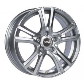 alloy wheel DBV Andorra brilliant silver painted 19 inches 5x112 PCD ET48 36376
